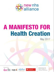 Manifesto for Health Creation